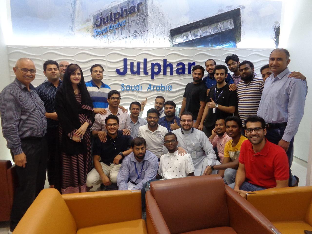Julphar Saudi Arabia Team Trainings by JTC