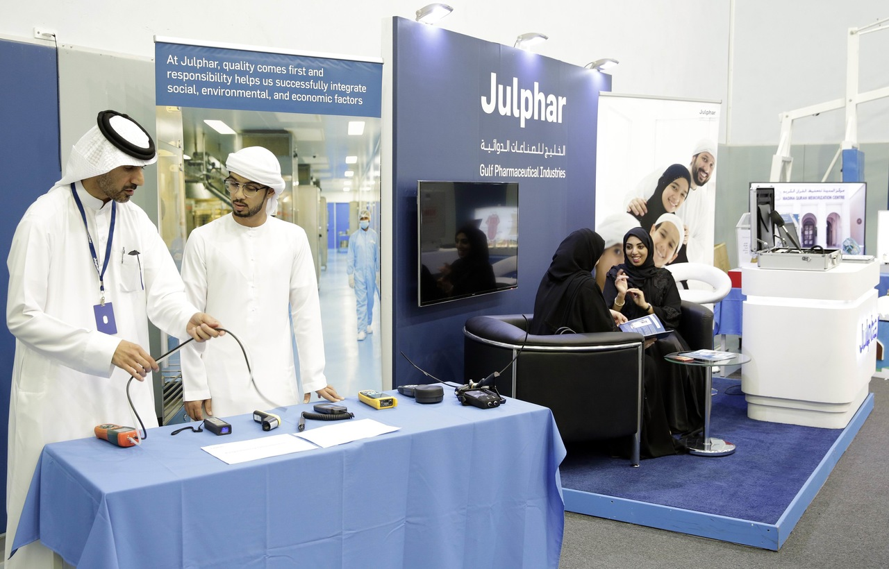 Julphar participates in TVET Innovation Discovery Experience Day