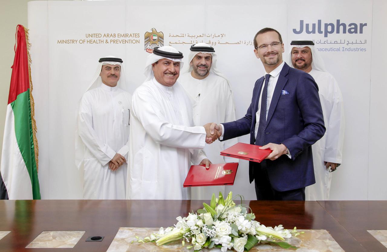 MoHAP and Julphar Sign Crisis Preparedness Agreement