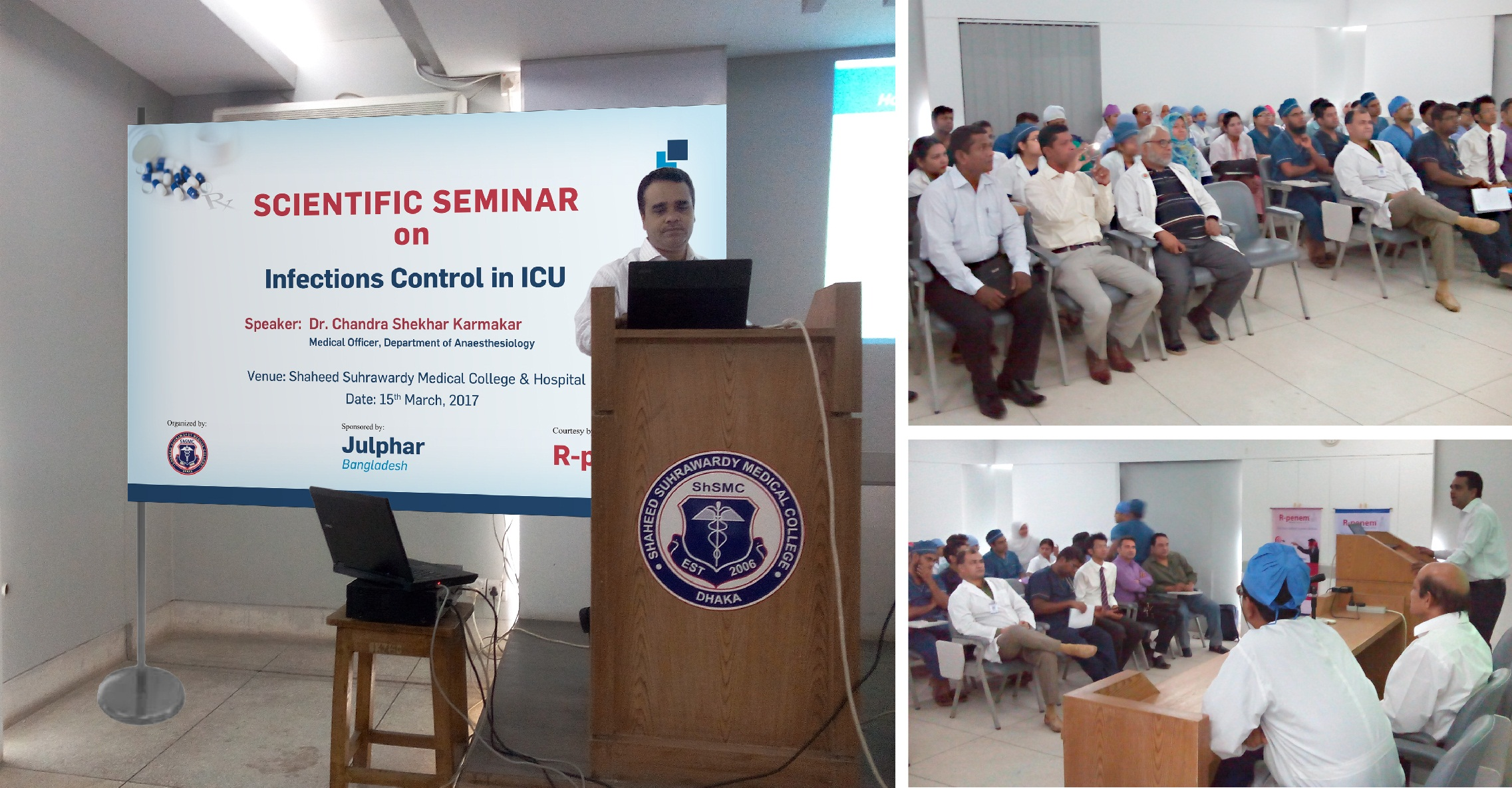 Julphar Bangladesh holds CME on infections control