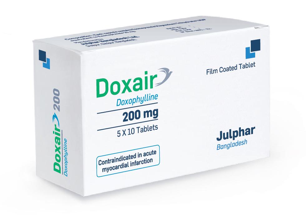 Julphar Bangladesh launches Doxair 200 for easy breathing