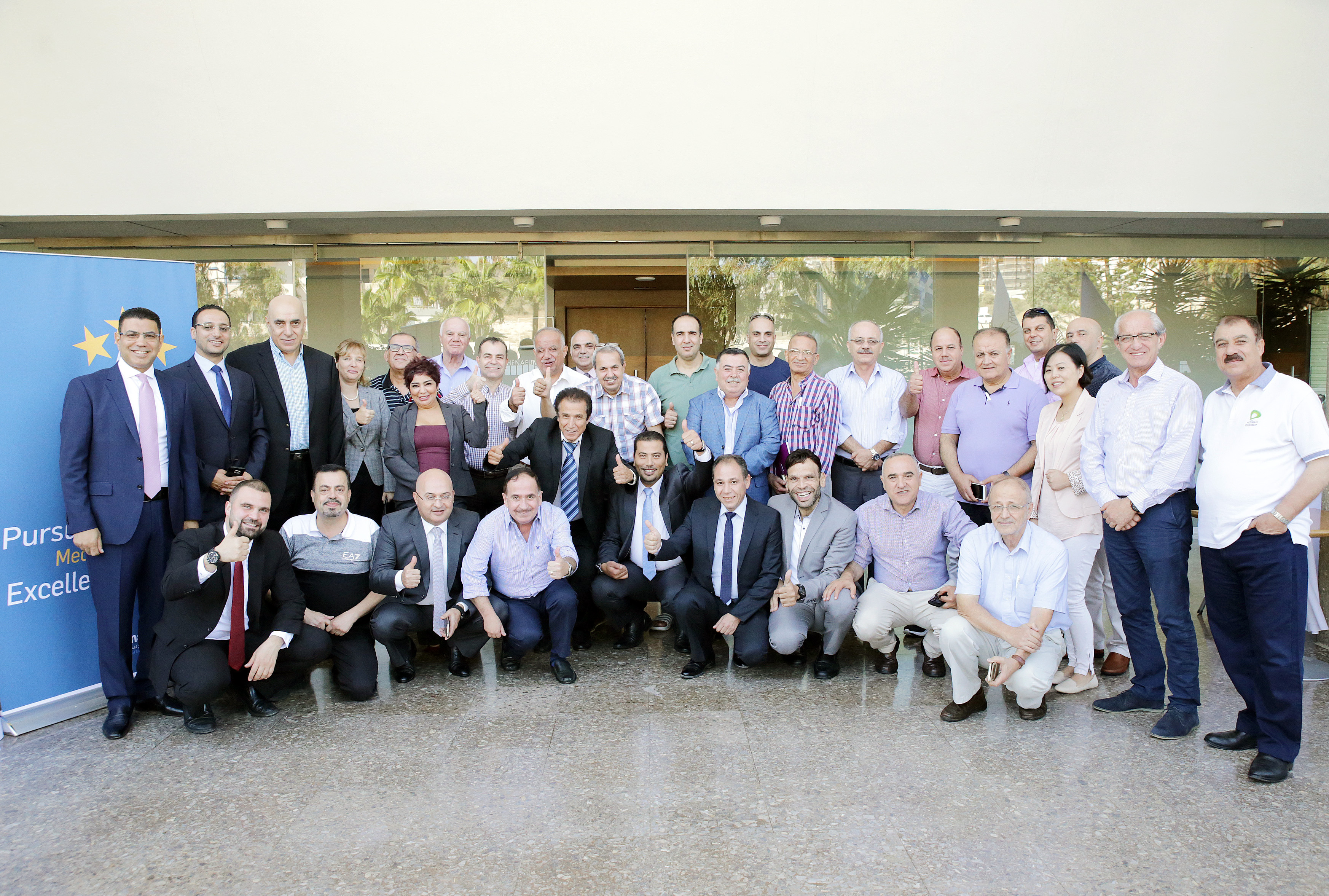 Pursuit of Excellence Meeting in Limassol, Cyprus