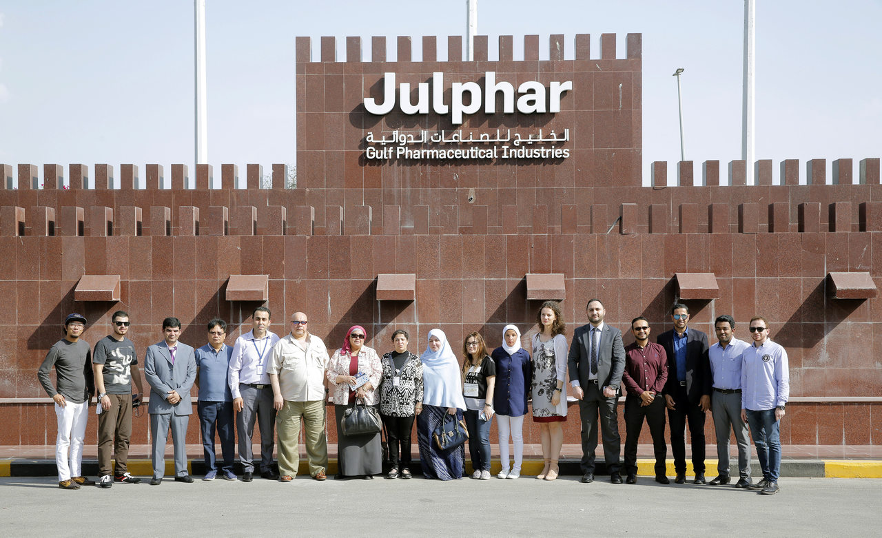 Emirates International Hospital Al Ain Visits Julphar