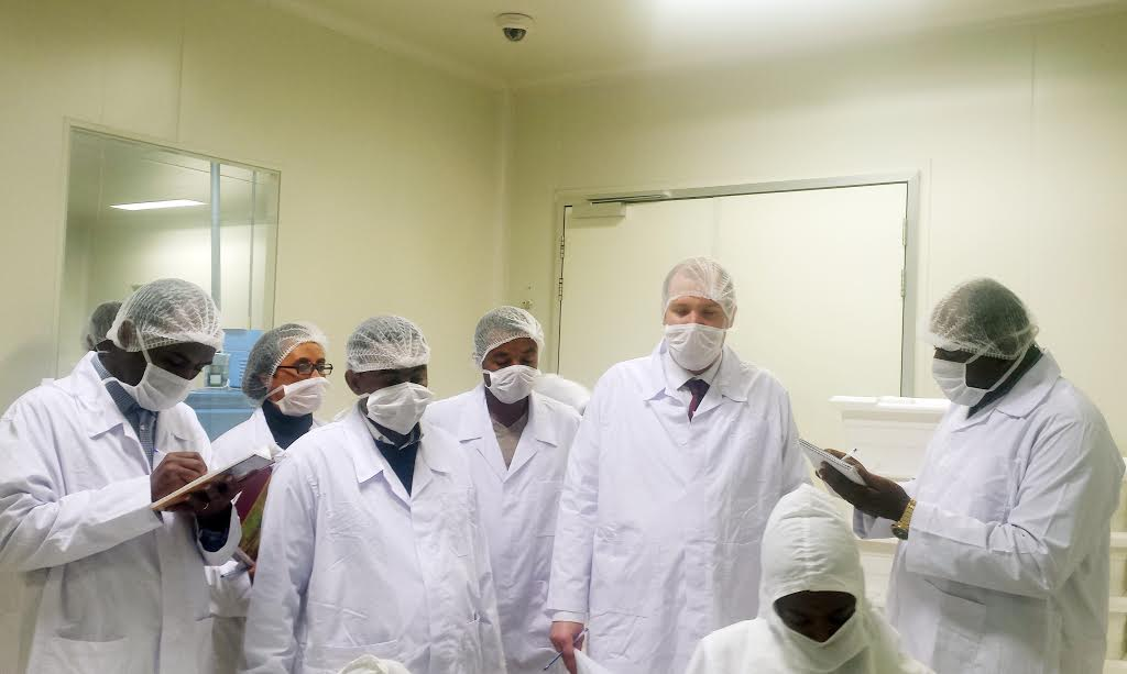 Julphar Ethiopia undertakes cGMP'sGap Analysis audit