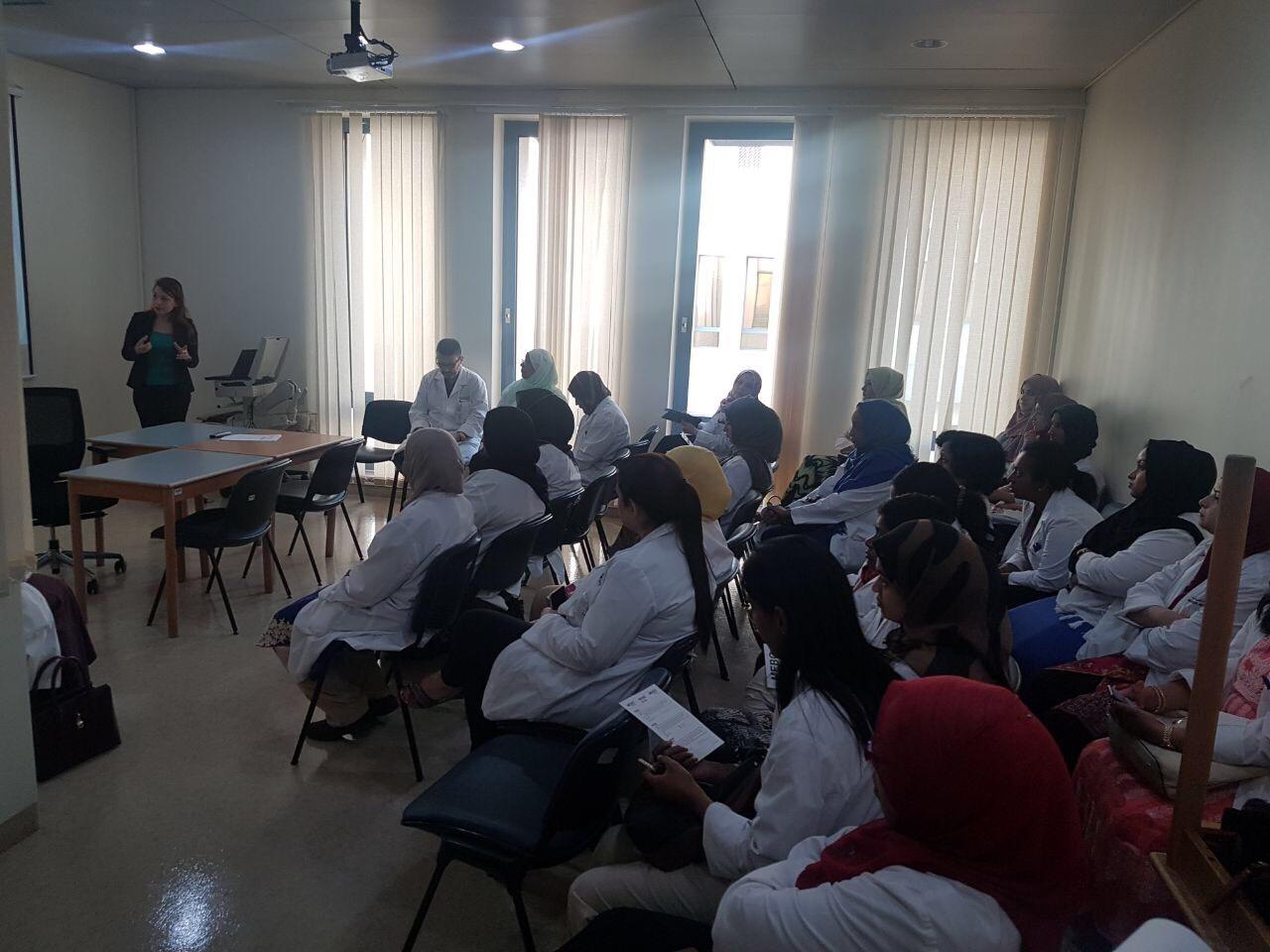 Julphar holds meeting in Latifa Hospital