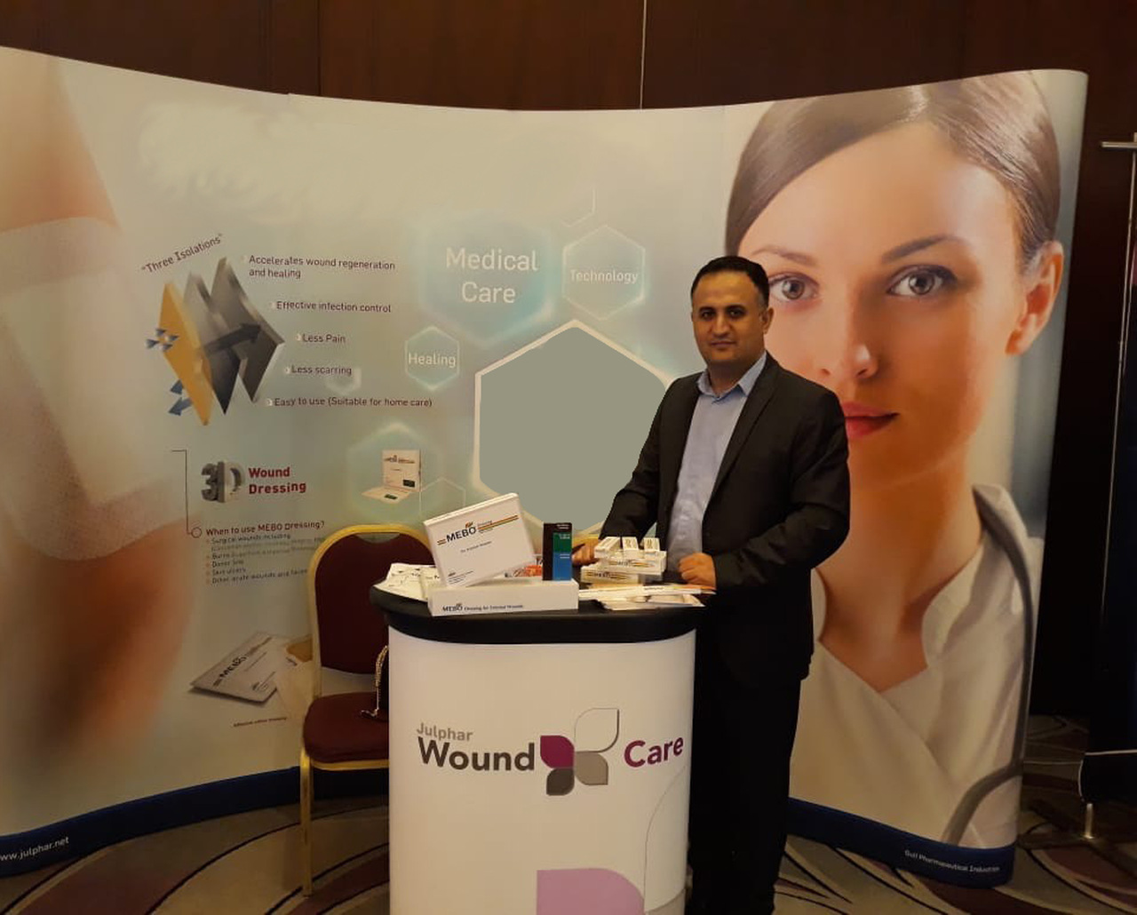 Julphar Participates in Leading Vascular Surgery Congress