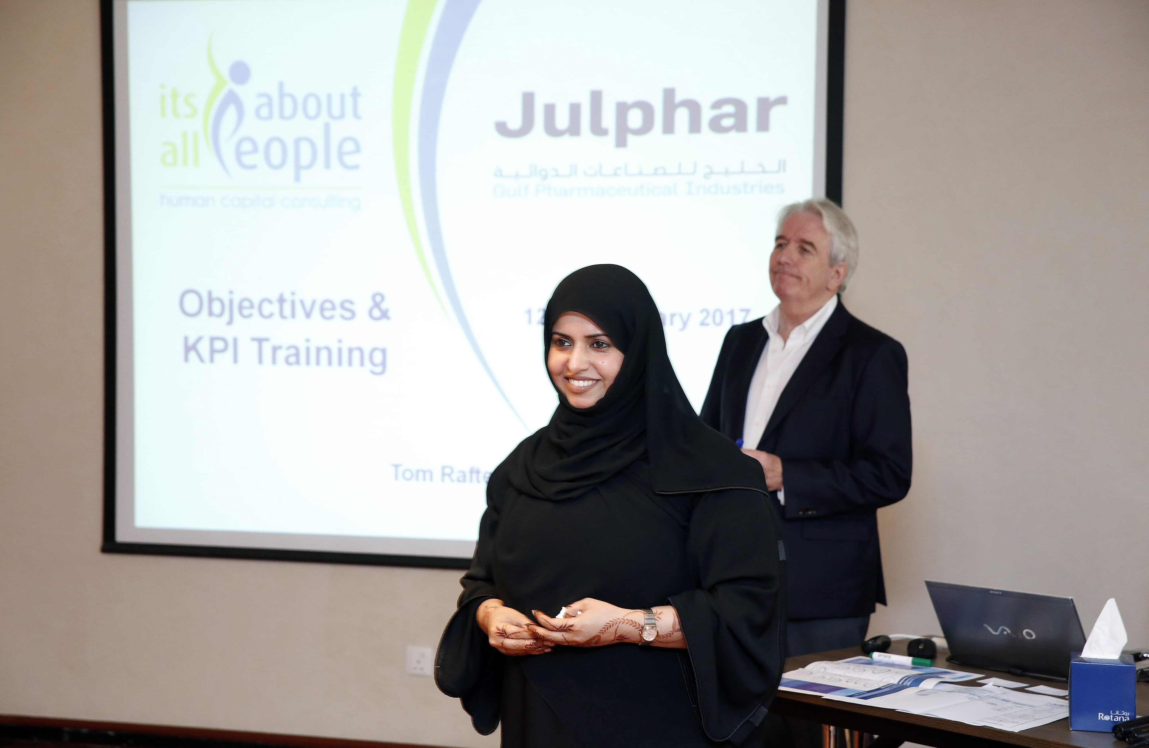 Julphar hosts successful workshop for its employees on Performance Management
