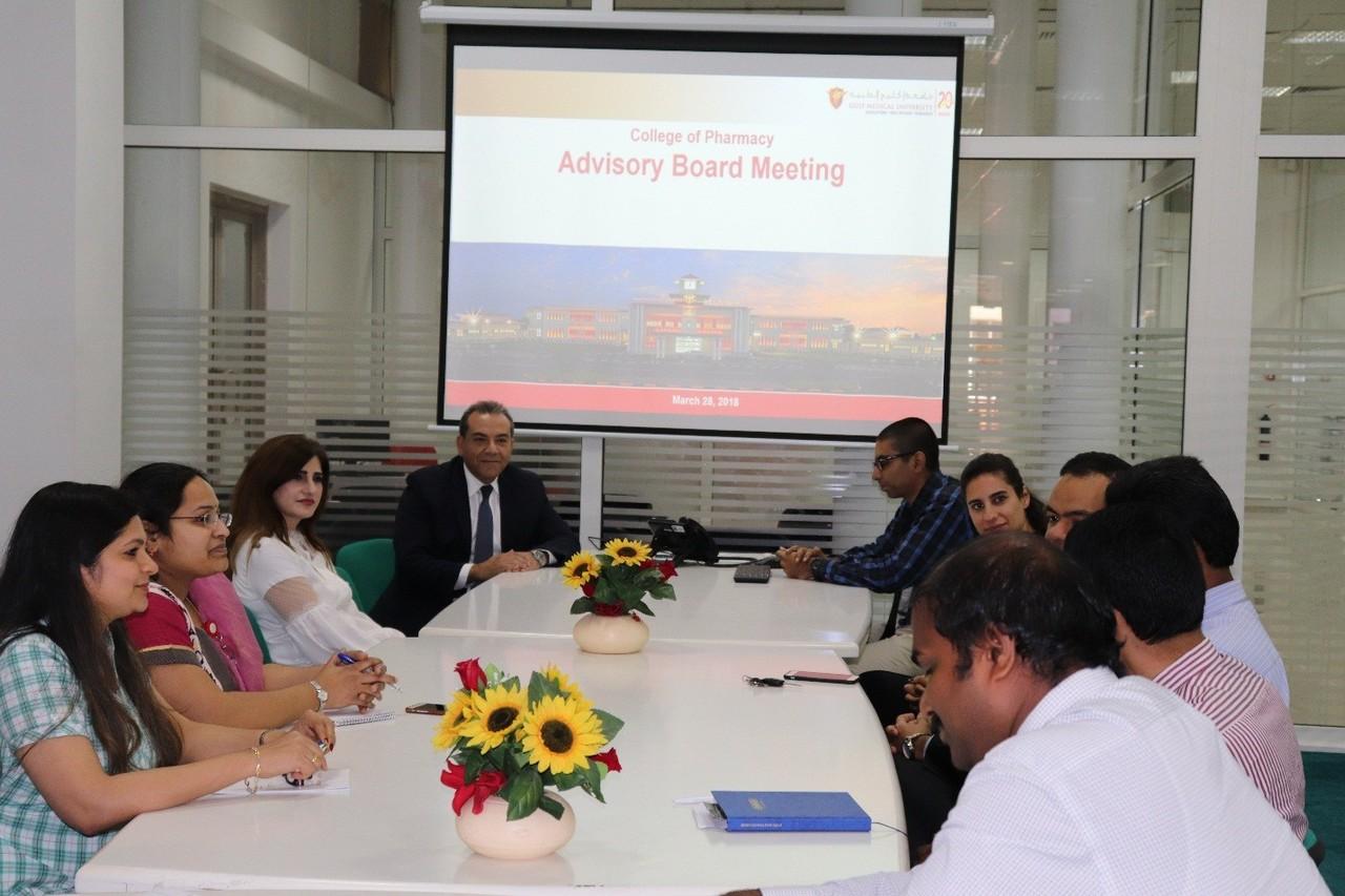 Advisory Board Meeting- Gulf Medical University